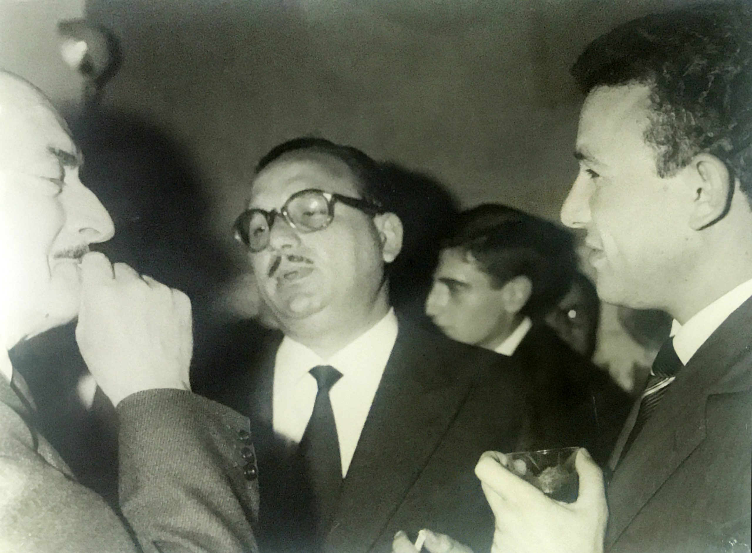 Con Salvatore Quasimodo e Fiore Torrisi